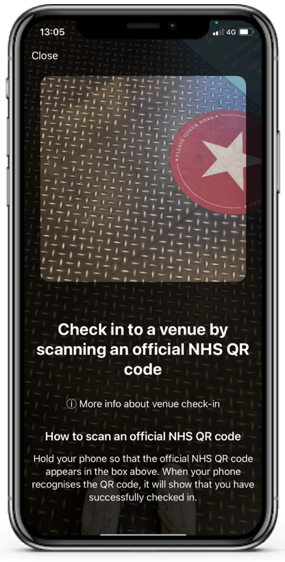 The NHS track and trace app